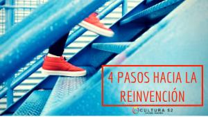 Reinvención en 4 pasos