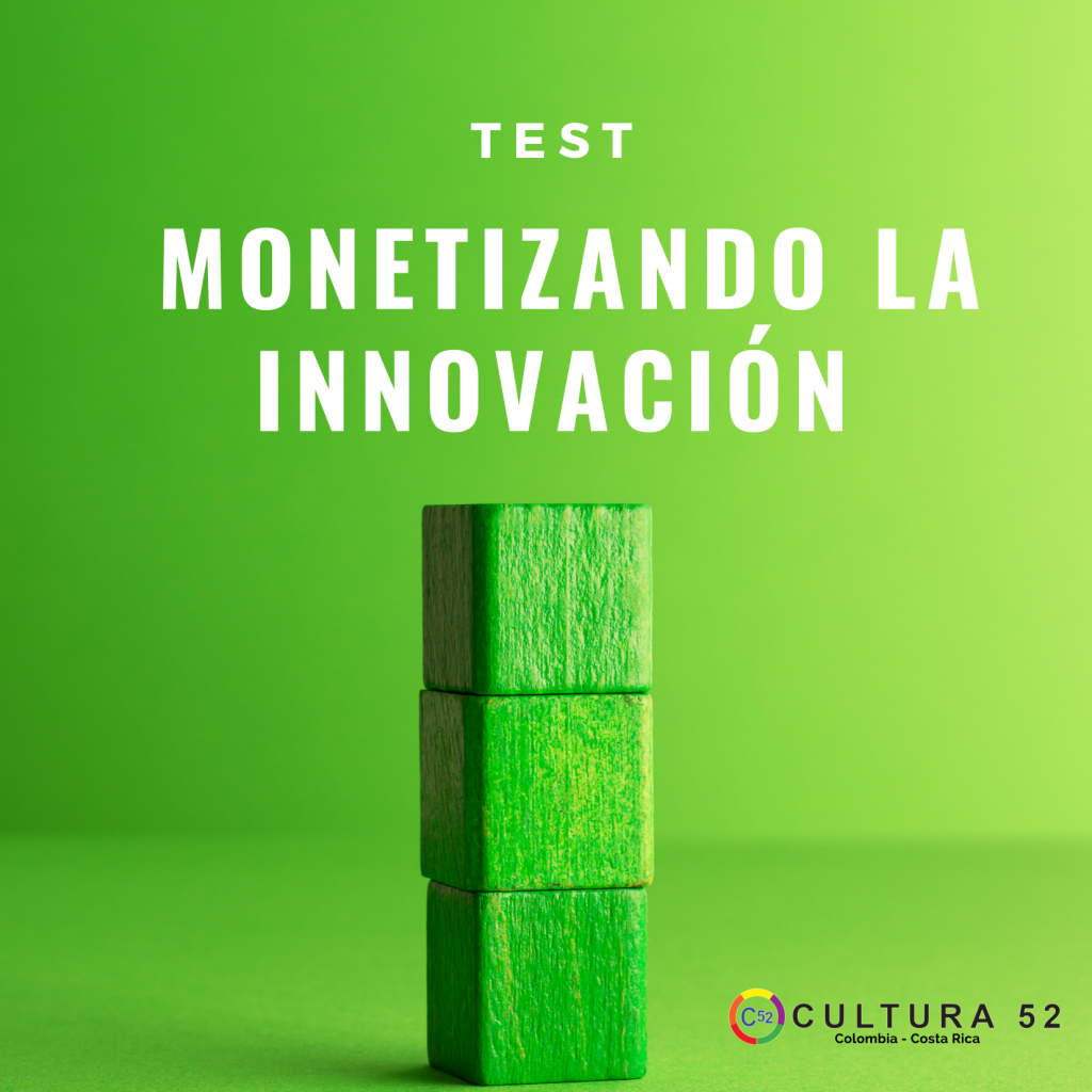 Test Monetizando la Innovación